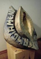 Lothar Rumold: Cambiamento di sphere, 2004, Zirbelkiefer