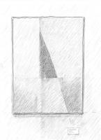 Lothar Rumold: Ein Bild von Michael Schneider, 2017, Bleistift auf Papier, 21 x 14,8 cm