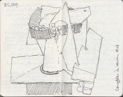 Lothar Rumold: Moleskine-Skizzenbuch II, 14 x 9 cm